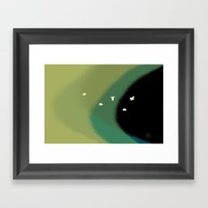 winds of the wings Framed Art Print