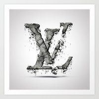 lv Art Prints featuring LV by Paul Trubas