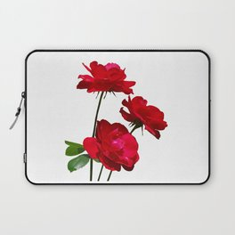 Roses are red, really red! Laptop Sleeve