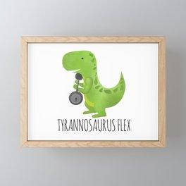 Tyrannosaurus Flex Framed Mini Art Print