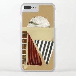 Desert Horizon Clear iPhone Case