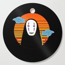 No Face a Lonely Spirit Cutting Board