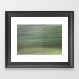 Green Whirlwind Framed Art Print