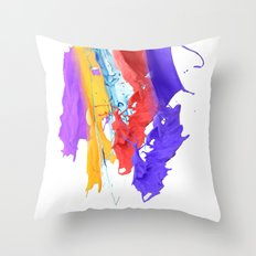Paint Toss Throw Pillow