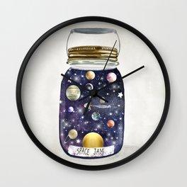 space jam jar Wall Clock