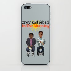Troy And Abed In the Morning iPhone & iPod Skin