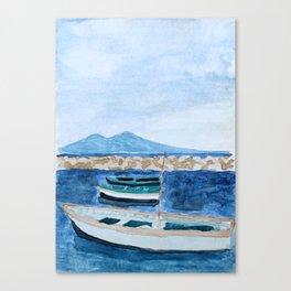 Vesuvius Canvas Print