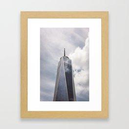 1 WTC Framed Art Print