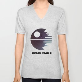Death Star II Unisex V-Neck