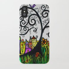 Monday Whimsy Doodle _original iPhone X Slim Case