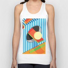 Shadow Shapes 1 Unisex Tank Top
