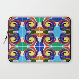 Dancing for the sun. Mosaic. Laptop Sleeve