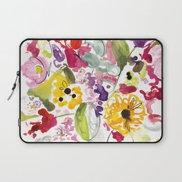 Jim Dandy Farm Flowers Laptop Sleeve