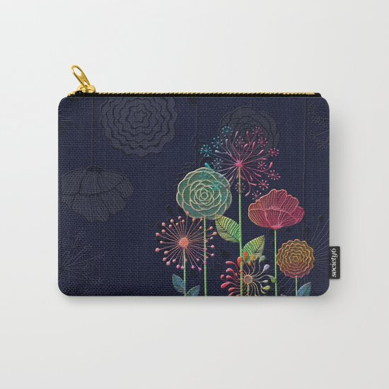 Flower Tales 2 Carry-All Pouch