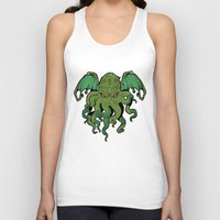 cthulhu Tank Tops featuring Cthulhu by missmonster