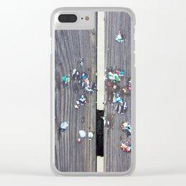 Kohr Bros Sprinkles Clear iPhone Case