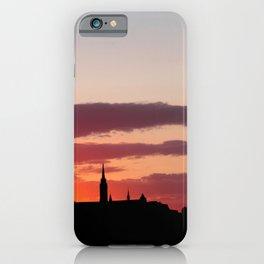 Sunset  - JUSTART © iPhone Case