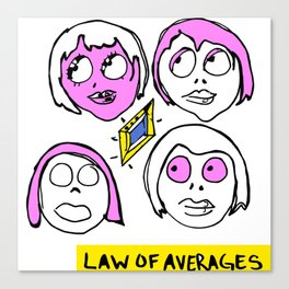 LAW OF AVERAGES Canvas Print