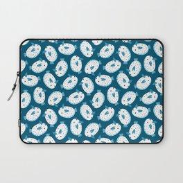 Sea Bunnies_Blue Laptop Sleeve
