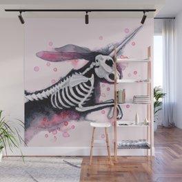 Unicorn Bunny Wall Mural