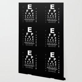 Inverted Eye Test Chart Wallpaper