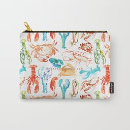 Spring Yeah! - Lobster&Crabs Carry-All Pouch