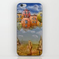 home sweet home iPhone & iPod Skins featuring Sweet Home by teddynash