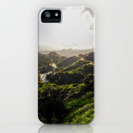 Green after the storm iPhone Case