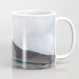 Volcanic Crater Turned Into A Lake Coffee Mug