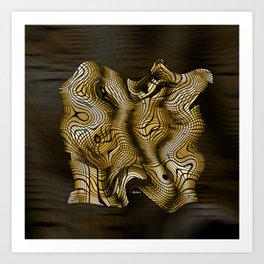 Golden Janus Art Print