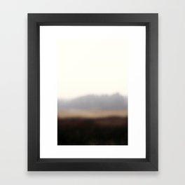On the road #4 Framed Art Print