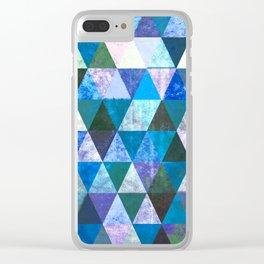 #800 Blue Bayou Clear iPhone Case