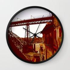 escada dos guindais Wall Clock