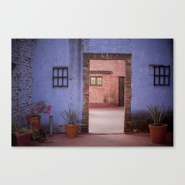 Hacienda Door Canvas Print