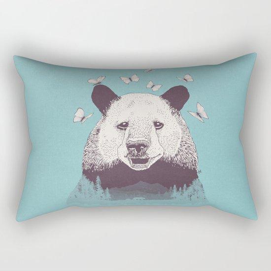 Let's Bear Friends Rectangular Pillow
