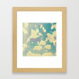 Good Framed Art Print