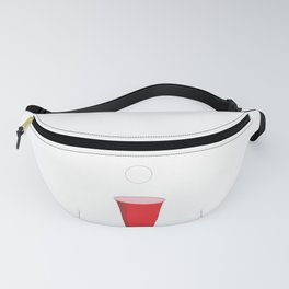 Beer Pong Illustration Fanny Pack