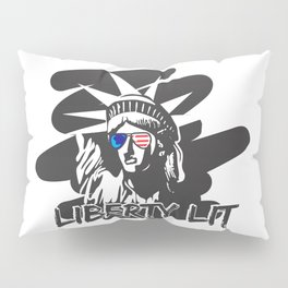 "Murica ""Party Like It's 1776"" Statue of Liberty Pillow Sham"