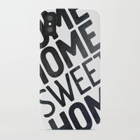home sweet home iPhone & iPod Cases featuring HOME by Eolia