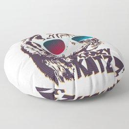 Crazy Tiger Floor Pillow
