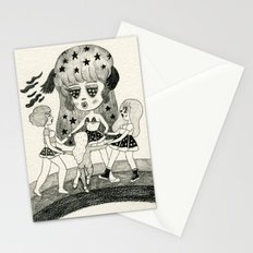 Pizza Ring Stationery Cards