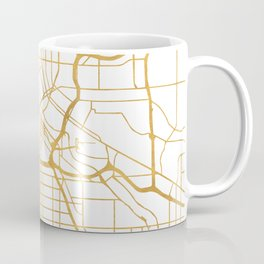 MINNEAPOLIS MINNESOTA CITY STREET MAP ART Coffee Mug