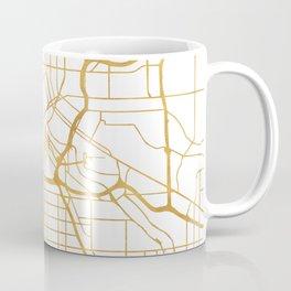MINNEAPOLIS MINNESOTA CITY STREET MAP ART Coffee Mug