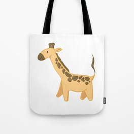Giraffe - Zoo Animals Tote Bag