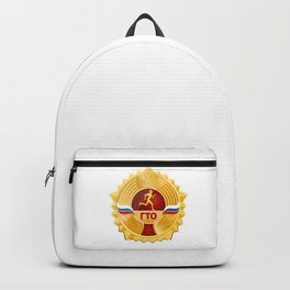 Sport sign Russia Backpack