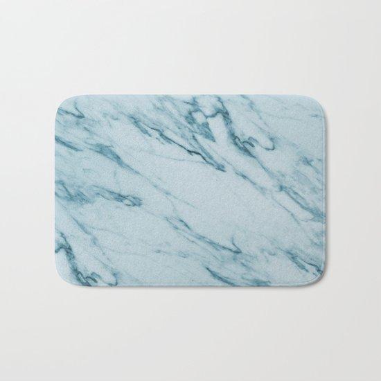 Alberto Verde - green marble Bath Mat