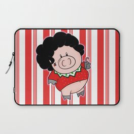 Candy Canes and Ugly Christmas Sweaters Laptop Sleeve