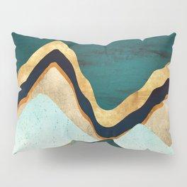 Velvet Copper Mountains Pillow Sham