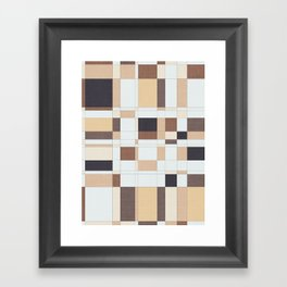 Cream Coffee Framed Art Print