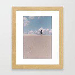 Sand Dune Mission Framed Art Print